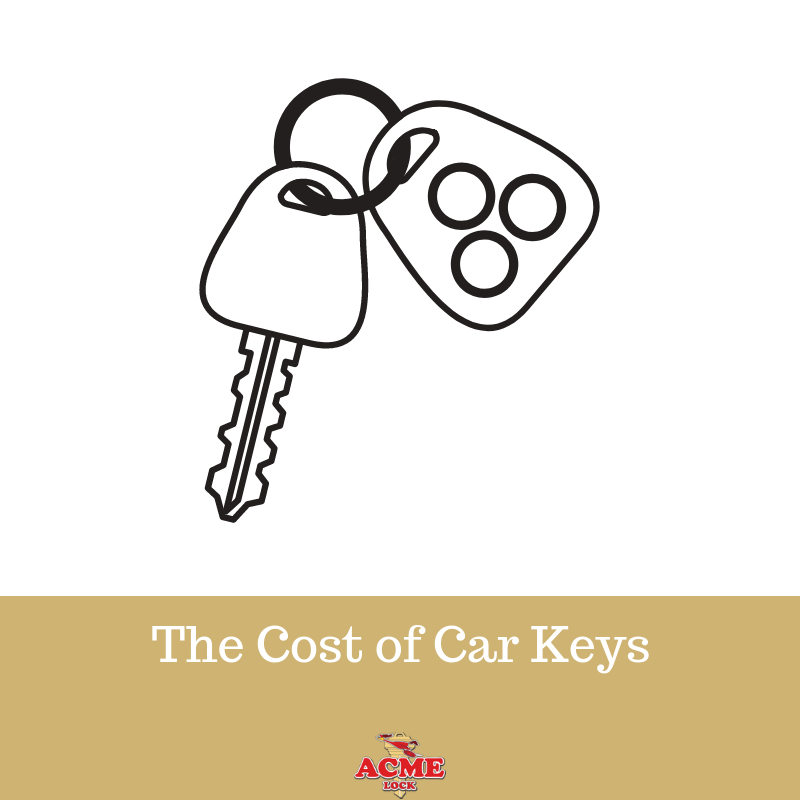 The High Cost Of Car Keys